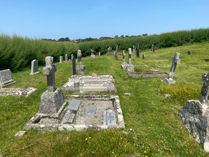This image has an empty alt attribute; its file name is gravestones-St-Enodocs-Church-700x525.jpg